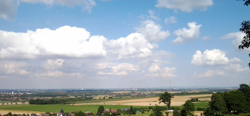 Ausblick vom Burgbergfuß