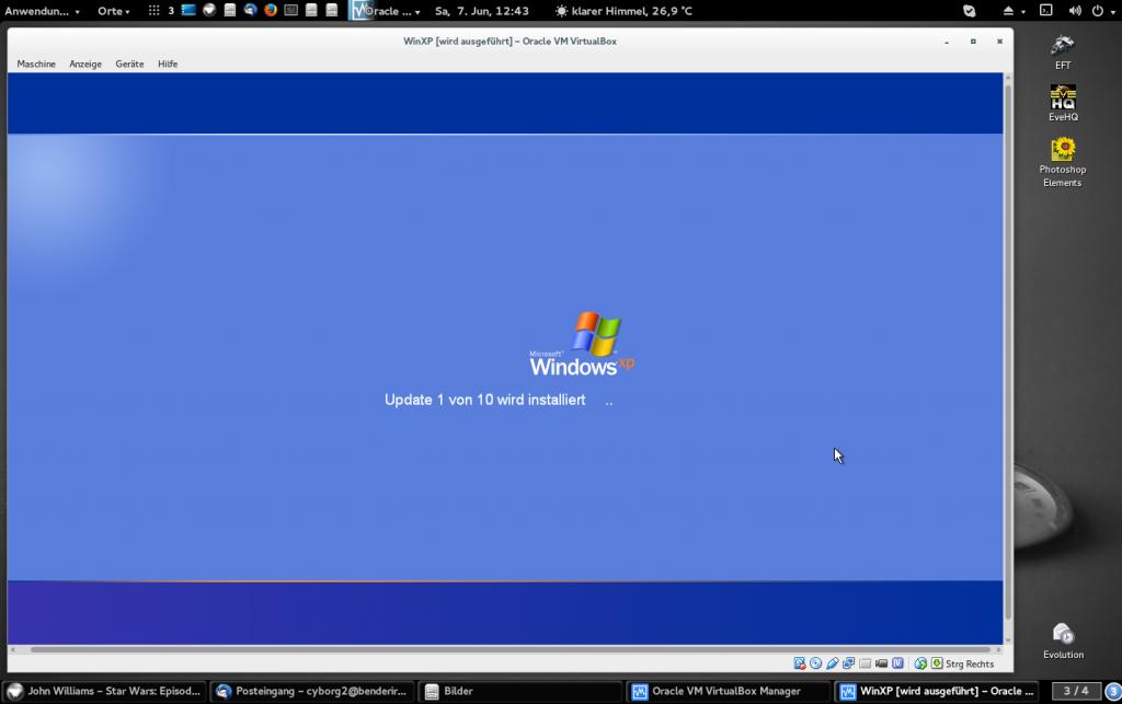 Windows-macht-Updates