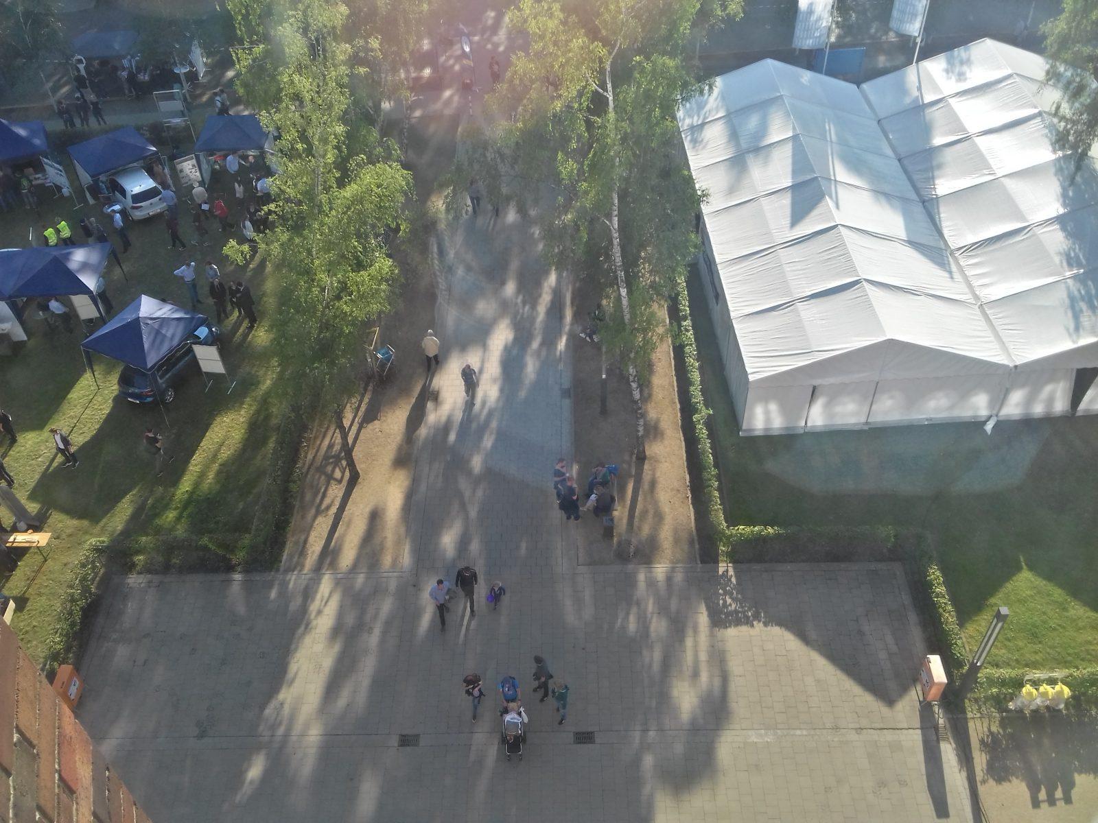 Blick aus dem Haus der Wissenschaften