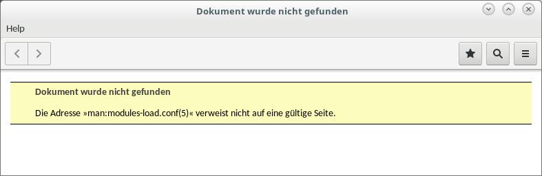 die Verlinkung in der Manpages-Datenbank ist nicht immer vollständig.