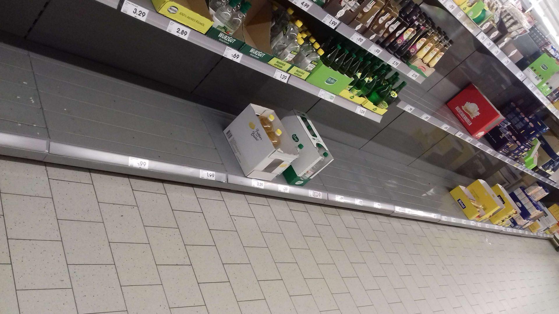 4.3.2020 Netto Weststadt.. Quasi Tag 1 der Belagerung des Supermarkts